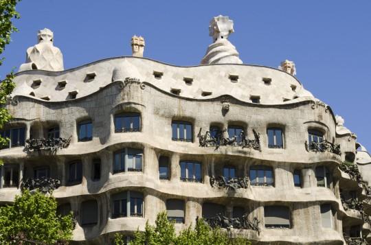 Barcelona: Casa Milà (La Pedrera)