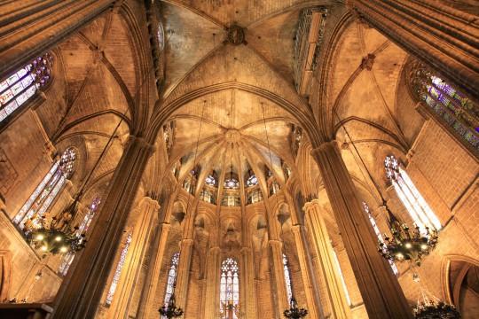 Barcelona: Catedral de Santa Eulàlia (La Seu)