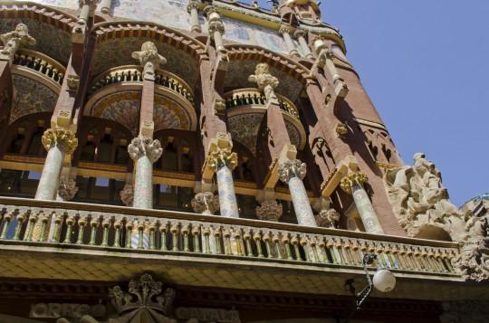 Barcelona: Palau de la Música Catalana
