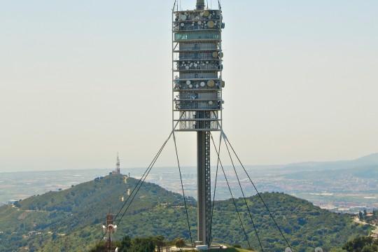 Barcelona: Torre de Collserola