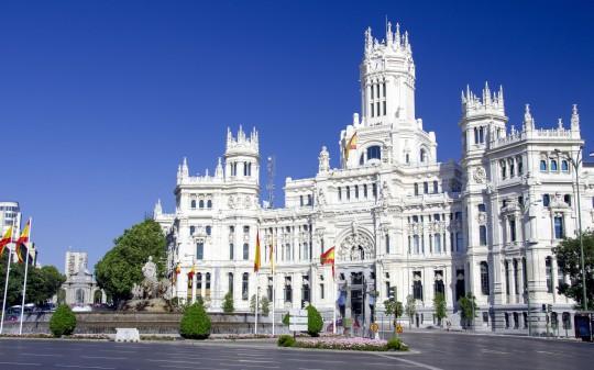 Madrid: Palacio de las Comunicaciones