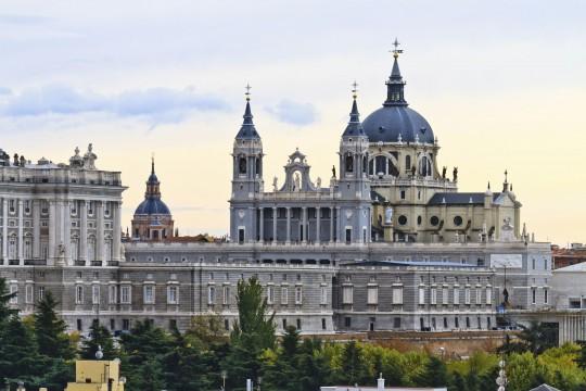 Madrid: Catedral Nuestra Señora de la Almudena
