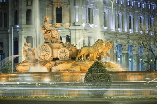 Madrid: Plaza de Cibeles