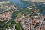 Stadt Brandenburg: Luftbild
