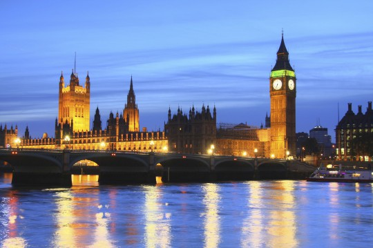 London: Big Ben & Houses of Parliament
