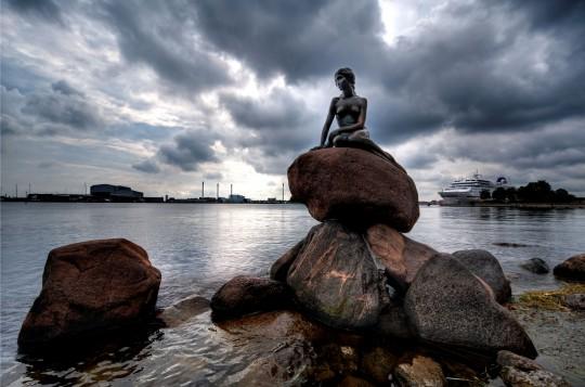 Kopenhagen: Die kleine Meerjungfrau