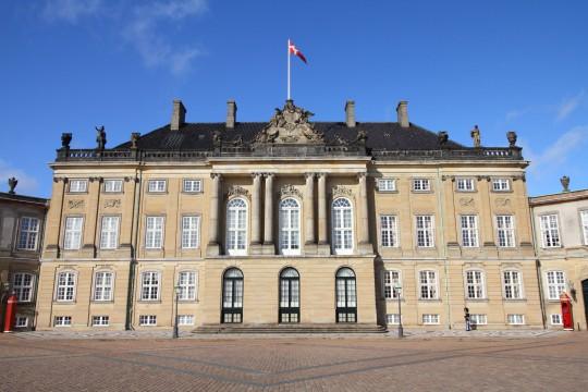 Kopenhagen: Schloss Amalienburg