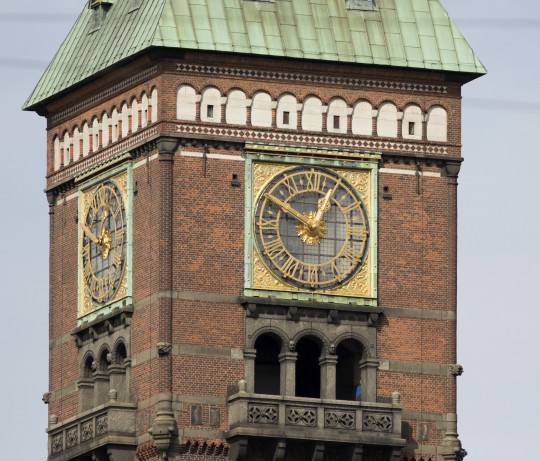 Kopenhagen: Rathaus