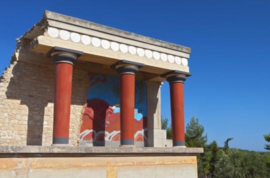Kreta: Palast von Knossos