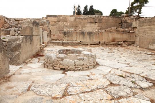 Kreta: Palast von Festos