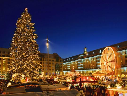 Dresden: Weihnachtsmarkt