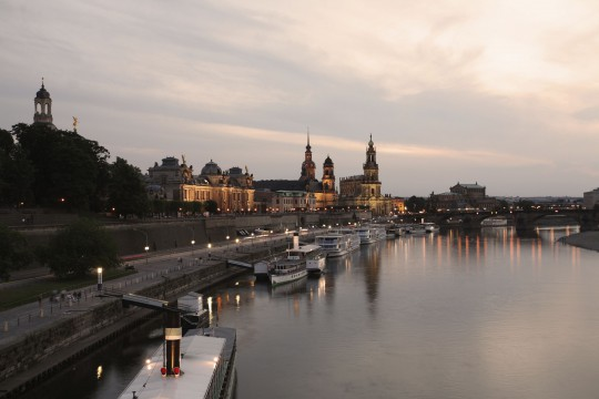 Dresden: Brühlsche Terrasse