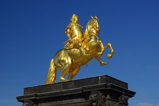 Dresden: Goldener Reiter