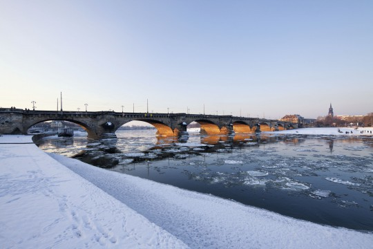 Dresden: Augustusbrücke