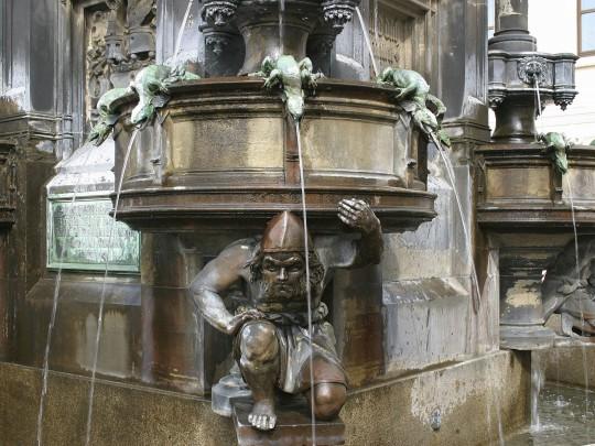 Dresden: Cholerabrunnen