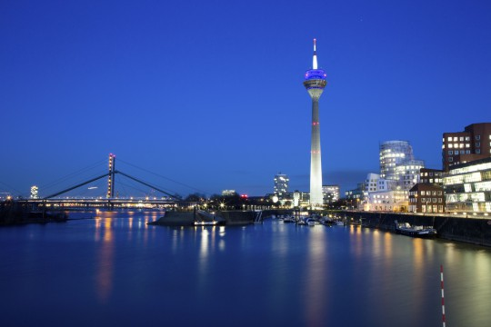 Düsseldorf: Rheinturm