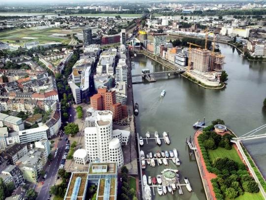 Düsseldorf: Medienhafen