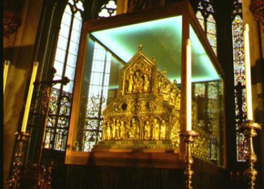 Köln: Dreikönigenschrein