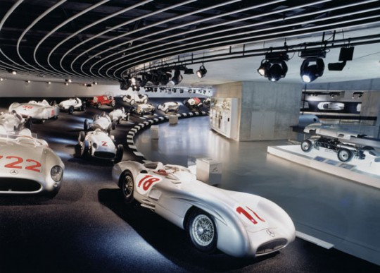 Stuttgart: Benz-Museum