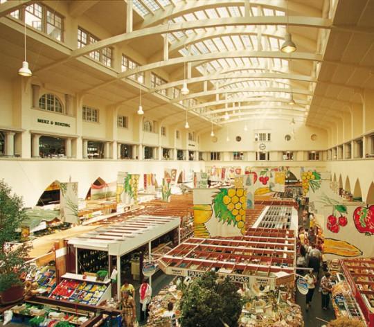 Stuttgart: Markthalle