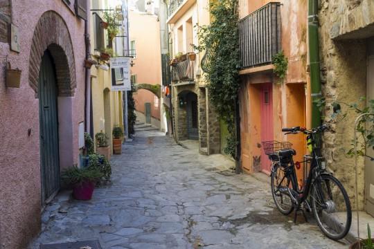 Côte d'Azur: Street von Collioure