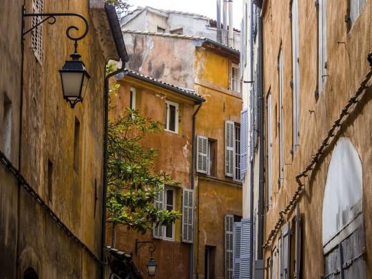 Provence: Altstadt von Aix-en-Provence