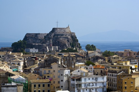 Korfu: Alte Festung, Kerkyra