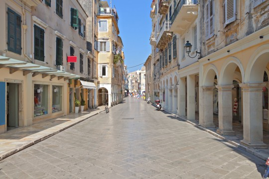 Korfu: Stadt