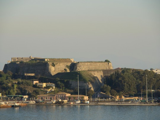 Korfu: Neue Festung, Kerkyra