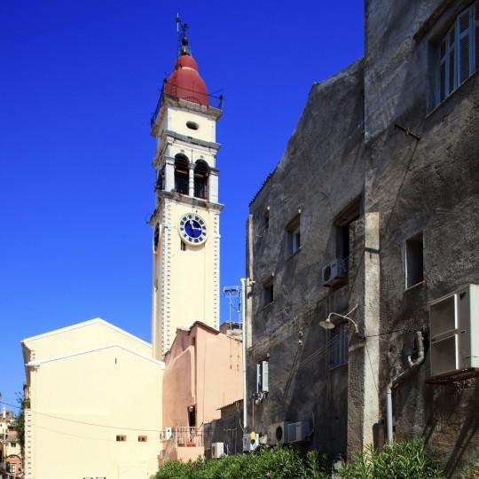 Korfu: Kirche Agios Spiridonas