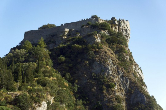 Korfu: Burgruine der Festung Angelokastro