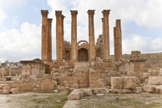 Korfu: Artemis-Tempel