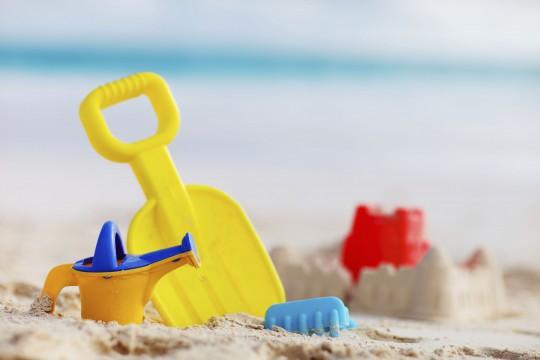 Strand von Kamari (Symbolbild)