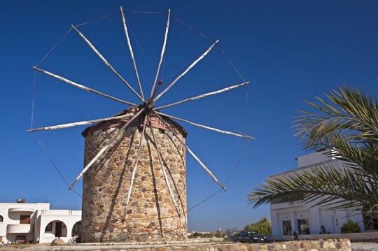 Kos: Windmühle