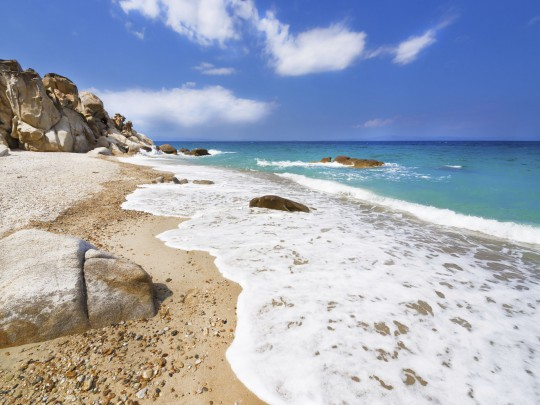 Chalkidiki: Seelandschaft
