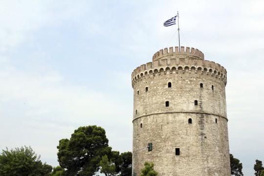 Chalkidiki: Weißer Turm