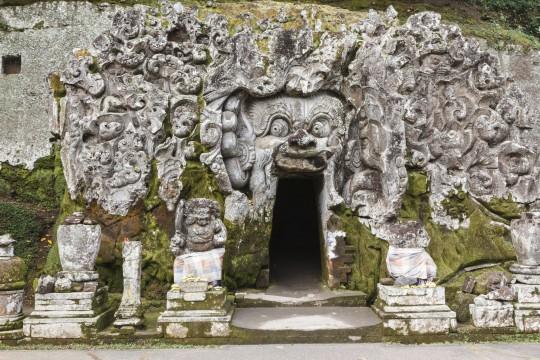Bali: Elefantenhöhle Goa Gajah