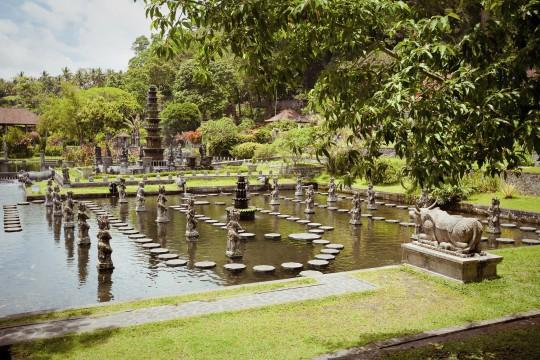 Bali: Wasserpalast Tirtagangga
