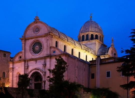 Dalmatien: Jakob-Kathedrale (Šibenik)
