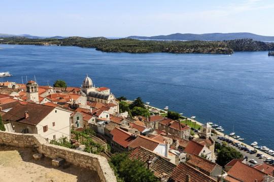 Dalmatien: Šibenik