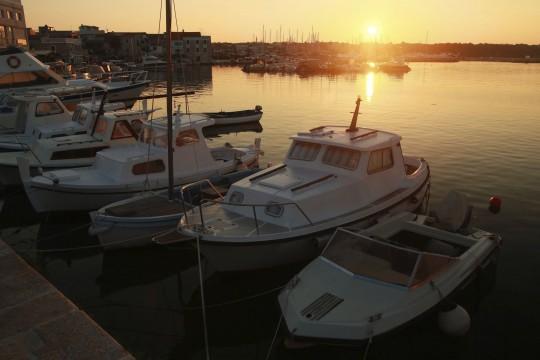 Dalmatien: Fischerort Vodice