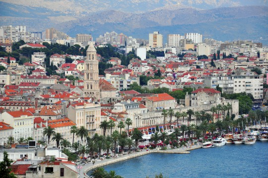 Dalmatien: Sonne tanken in Split