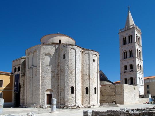 Dalmatien: Donat-Kirche in Zadar