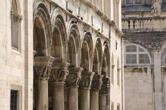 Dalmatien: Sponza-Palast in Dubrovnik