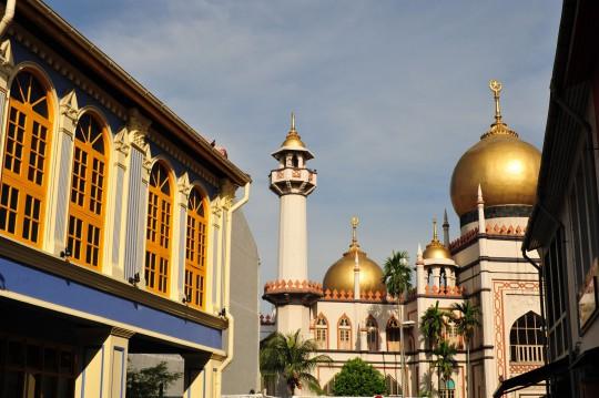 Singapur: Sultan Moschee