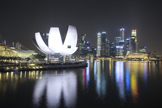 Singapur: ArtScience Museum