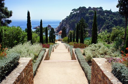 Costa Brava: Botanischer Garten Mar i Murta