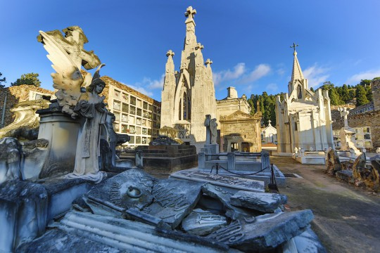 Costa Brava: Modernist Cemetery in Lloret de Mar