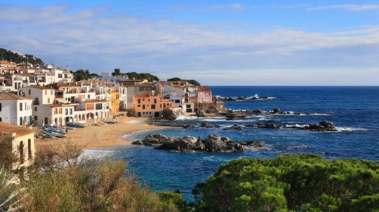 Costa Brava mit Costa de Barcelona und Costa Maresme