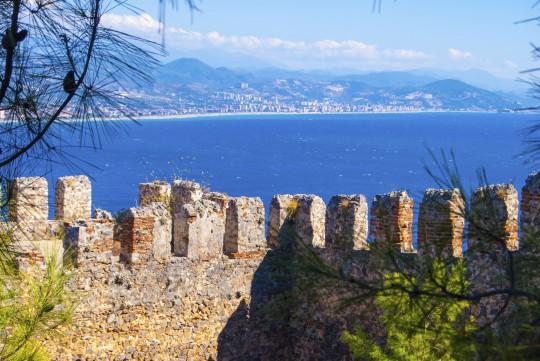 Türkische Riviera: Burgberg, Alanya